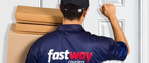 Fast Way Courier Knock on Door