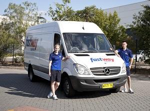 Fastway Courier Van