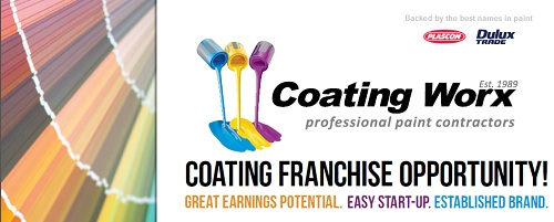 Coating Worx Franchise opportunity advert