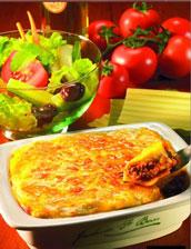 Mugg & Bean lasagne and salad