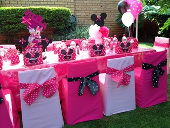 Monkey Magic Minny Mouse themed childrens event