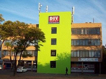 DIY Depot Franchise Building Front