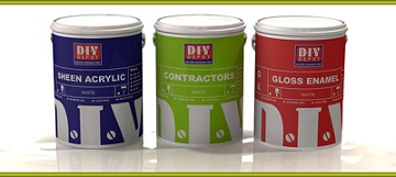 DIY Depot Paint tins