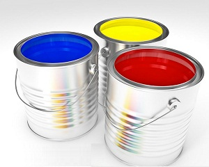 House of Paint tins