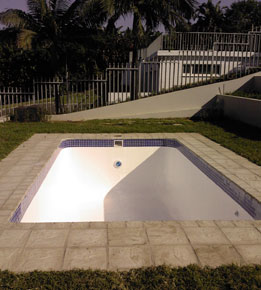 Wilcote finished pool