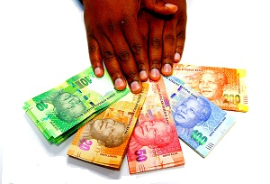 Cash Contribution - South African Rands