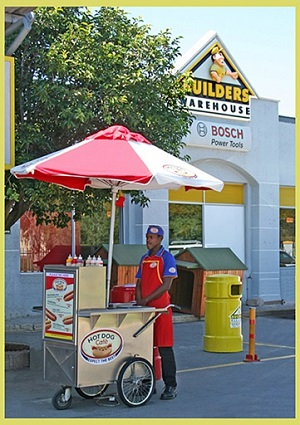 Option 1 - HOT DOG CAFE CART
