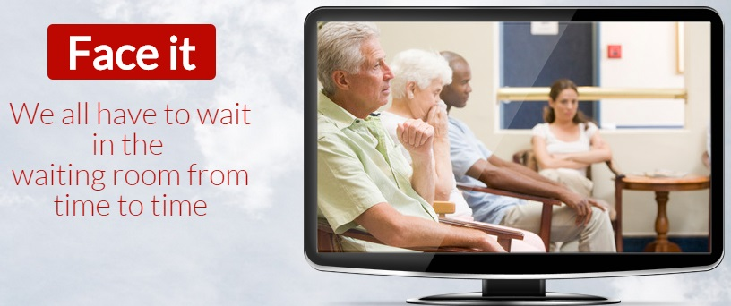 Dr's.TV Ads Hillcrest Franchise for sale - we all have to wait in the waiting room