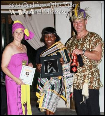 Maxis Mokopane Cashier Award - Rachel Mokoka