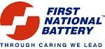 First National Battery Logo