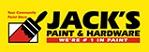 Jacks Paint & Hardware Logo