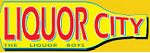 Liquor city - the liquor boys logo