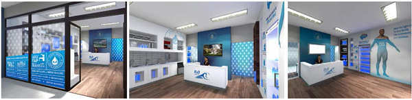 H20 Franchise New Look Stores