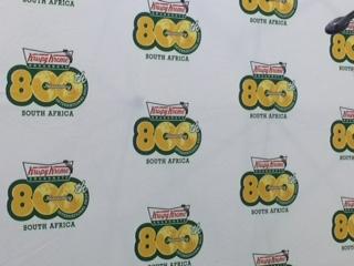 Krispy Kreme doughnut media launch Rosebank JHB 800th store worldwide!