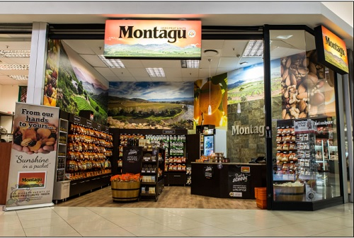 Montagu Dried Fruit and Nuts Front of Store