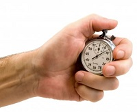 Slave to your business stop watch