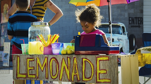 Lemonade - young entrepreneur