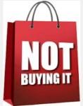 Not buying